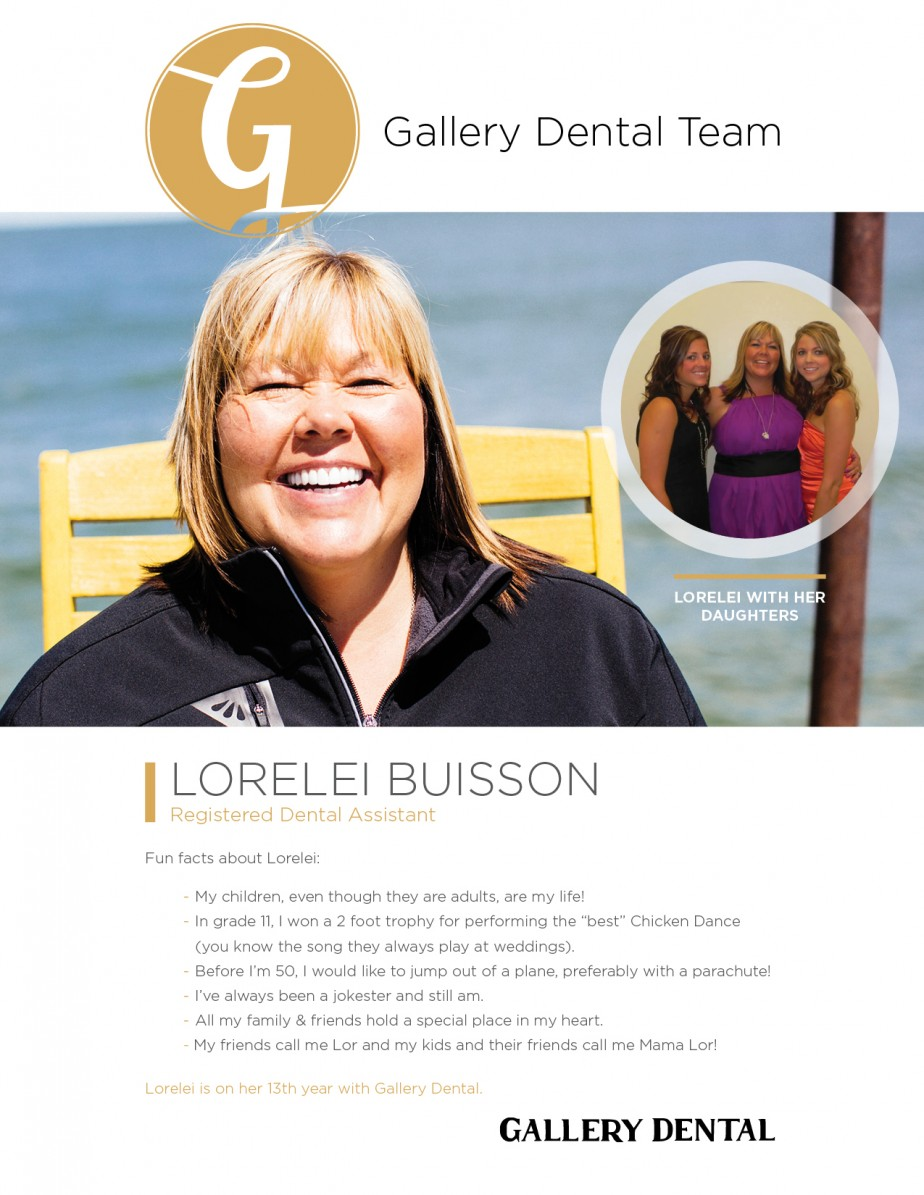 Gallery Dental Team: Lorelei Buisson