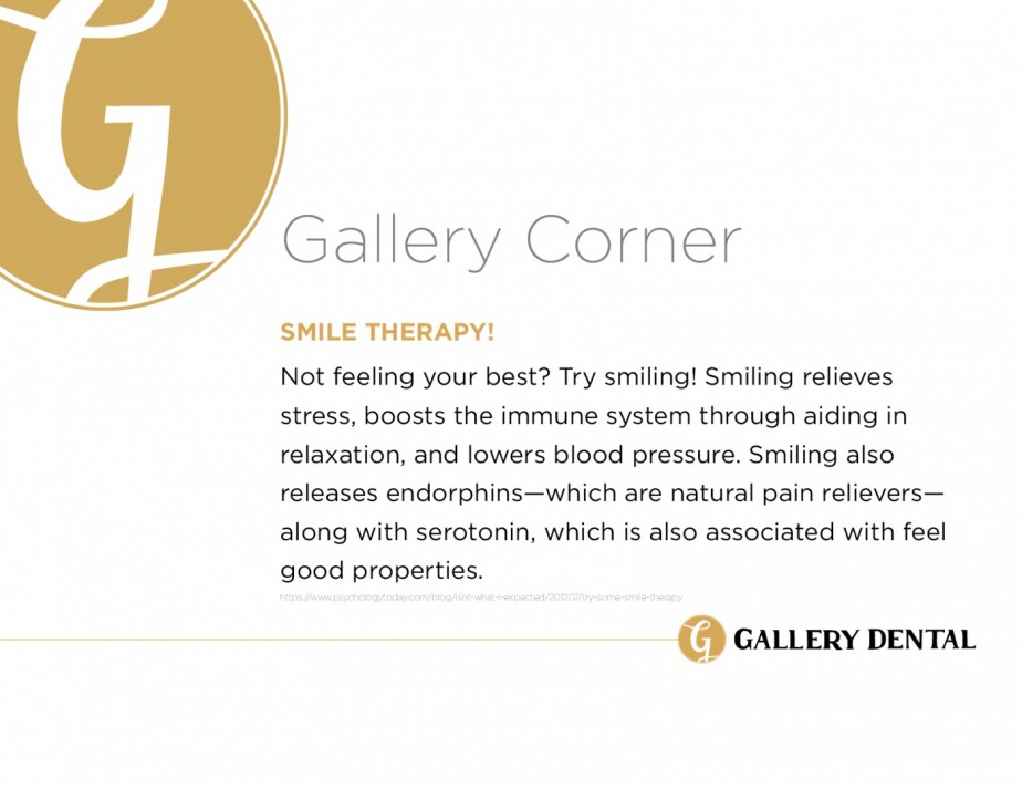 Gallery Dental Fact - Smile Therapy