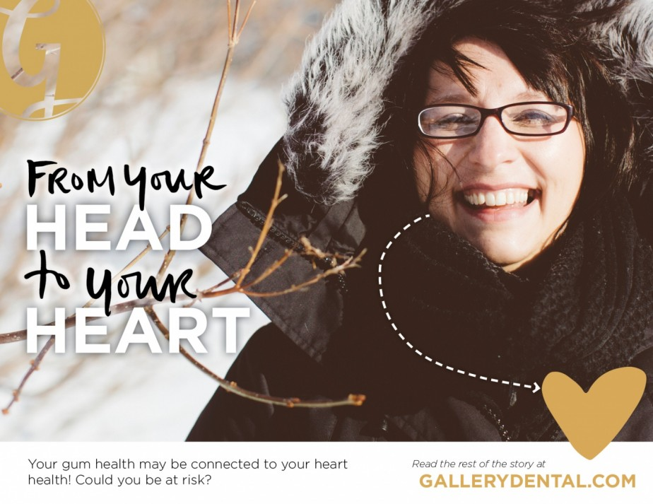 Gum disease to heart disease - From Your Head to Your Heart